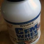 Wieder CFM Whey Protein Test