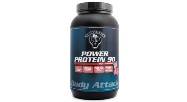 body attack power protein 90 im test. Black Bedroom Furniture Sets. Home Design Ideas